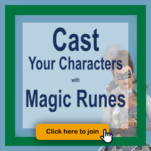 Cast Your Characters With Magic Runes